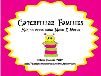 Caterpillar Families- Magic E
