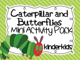 Caterpillar and Butterflies Mini Activity Pack