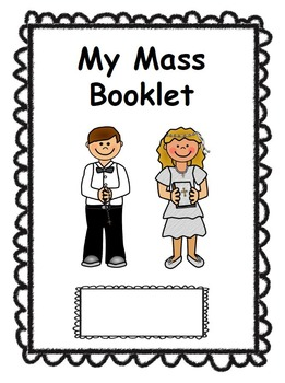 Catholic Mass Booklet for Kids - with new responses