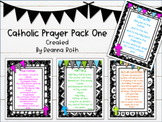 Catholic Prayer Posters--Pack One