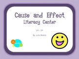 Cause and Effect Differentiated Literacy Center