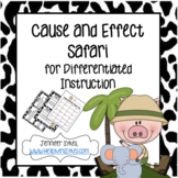 Cause and Effect Task Cards, Scoot, and Matching Game