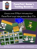 Cause and Effect introduction PowerPoint and Interactive N