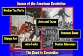 Causes of American Revolution: Road to Revolution Common C