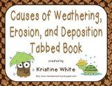 Weathering, Erosion, and Deposition Tabbed Book