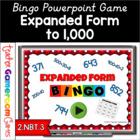 Freebie - Expanded Form Bingo - PPT Game