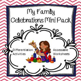 Celebrations (ACARA History) Foundation Year Mini Pack