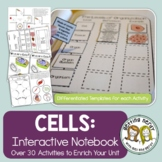 Science Interactive Notebook - Cell Organelles and Processes