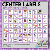 Center Labels- Purple