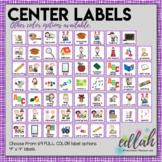 Center Labels- Purple