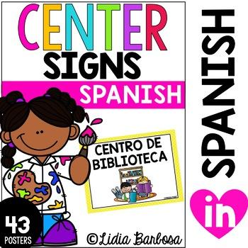 SPANISH Center Signs