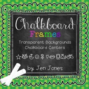 Chalk Talk! Doodle Chalkboard Frames {For Personal or Comm