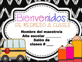 Chalkboard Back to School and Open House PPT Template in S