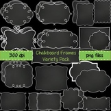 Chalkboard Frames Variety Pack ~ 26 Unique Frames & Labels