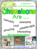Chameleons are Cool: a visual art and letter writing activity