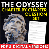 Chapter-By-Chapter Study Guide Worksheets for Homer's The Odyssey