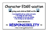 Character Education ~ Mantra Minute Affirmations for Respo