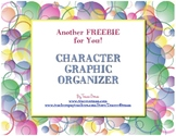 Character Graphic Organizer Any Novel