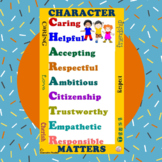 Character Matters Poster