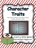 Character Traits Flip Book