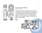 Characters & Setting