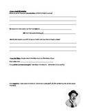 Charlie Chaplin Research & Links, with MYP Design Rubric C