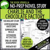 Charlie and the Chocolate Factory Novel Study - Roald Dahl
