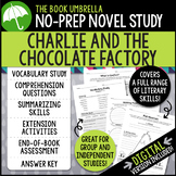 Charlie and the Chocolate Factory Novel Study - Roald Dahl