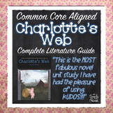 Charlotte's Web - 158 pages - Complete Lessons, Activities