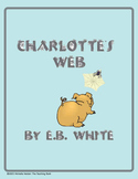 Charlotte's Web Teaching Novel Unit CD~Common Core Standards