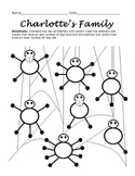 Charlotte's Web Worksheet: Odd and Even Numbers