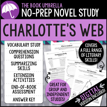 Charlotte's Web Novel Study - E. B. White