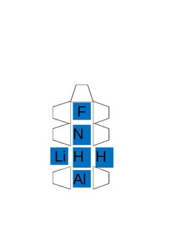 Chemistry Dice Bingo