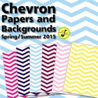 Chevron Papers and Backgrounds FREE Clip Art