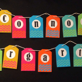 Chevron Tag Banner - Customized