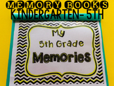 Memory Book Chevron and Polka Dots for EOY