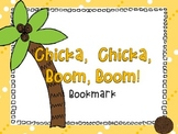 Chicka Chicka Boom Boom Bookmark