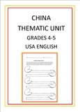 China Thematic Unit for Grades 4-5