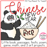 Chinese New Year Common Core Informational Reading and More