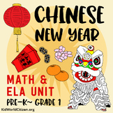 Chinese New Year Math and Literacy Unit ~ Holidays Around