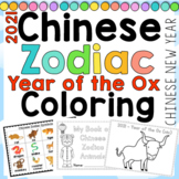 Chinese Zodiac Coloring Pages for Chinese New Year 2015