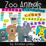 Chit Chat Messages, Close Reading Passages & More {zoo edition}