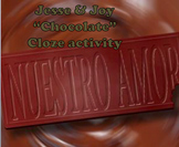 Chocolate Jesse y Joy Cloze Activity