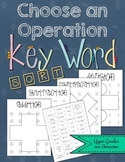 Choose an Operation Key Word Sort