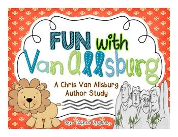 Chris Van Allsburg Author Study for Reader's Workshop