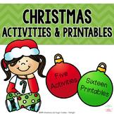 Christmas Activities and Printables
