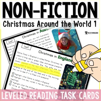 Christmas Around The World {6 Countries Nonfiction Reading {K-3}