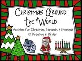 Christmas Around The World, Hanukkah, & Kwanzaa Literacy &