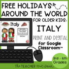 Christmas Around the World: Italy Freebie