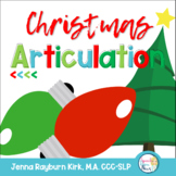 Christmas Articulation: Speech Therapy Card Games